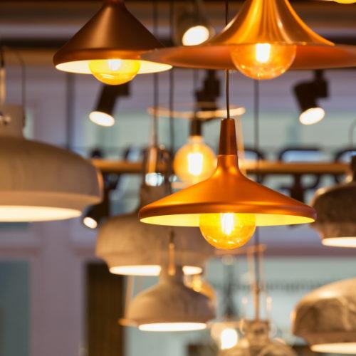 ampoule orangée